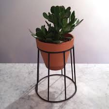 Metal Wall Planter by Plant Stand Gold Geometric Wall Mounted Air Planter Idea Mount