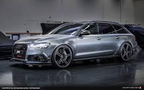 Audi Q5 Body Kit - the u201cdaytona grey matt u201c paintwork of the abt rs6 r to be shown in