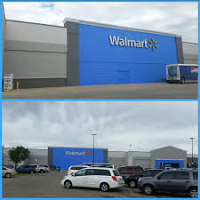 saginaw walmart getting a facelift with a new color scheme yelp