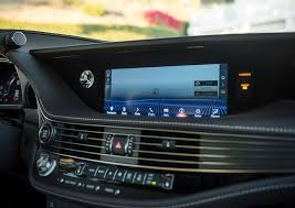 lexus ls interior 2017 2018 lexus ls interior infotainment screen street shot