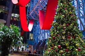 Christmas Decorations For Commercial Buildings by Green Walls Office Plants Mcfarlane Douglass