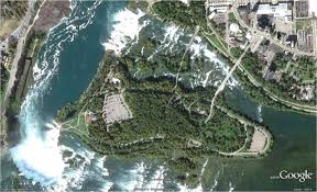 Niagra Falls Map American Side Of Niagara Falls To Go Silent Ncpr News