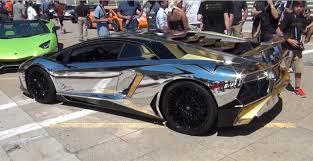 gold chrome lamborghini aventador chrome gold wrapped 2016 lamborghini aventador sv or science
