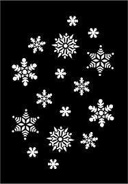 imagenes blancas en fondo negro vector de la imagen de los copos de nieve blancas sobre fondo negro