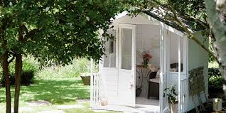 how to make your garden shed chic