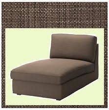 Covers For Chaise Lounge Cover For Ikea Kivik Chaise Lounge Slipcover Only Dansbo White Ebay