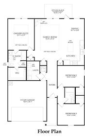 rosemont new home plan killeen tx centex home builders