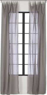 Curtains 100 Length Lace Linen Curtain Custom Length Window Curtains By Nordicstyle