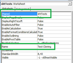 how to refer to a excel worksheet by its vba object name in
