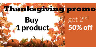 salon and spa thanksgiving promotion