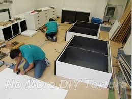 Cabinet Assembly Extra Space Is Required To Assemble Flatpack Furniture Correctly