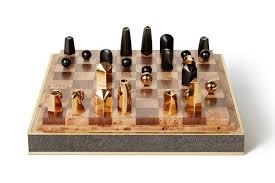 home design essentials shagreen chess set by aerin gift guide home design essentials