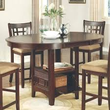 white counter height kitchen table and chairs counter height table with storage table set white counter height