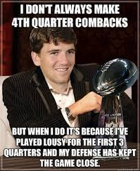 Eli Manning Memes - tony romo vs eli manning nfl nfc east meme battle vote now