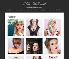 makeup artists websites website exles site your
