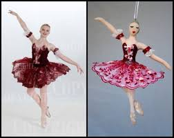 25 unique ballerina ornaments ideas on paper napkins