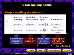why is good spelling important good spelling habits ie and ei