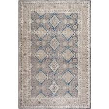 Grey And Beige Area Rugs Safavieh Sofia Light Gray Beige 9 Ft X 12 Ft Area Rug Sof366b 9
