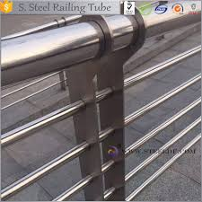 anti corrosion outdoor stainless steel balcony railing design for