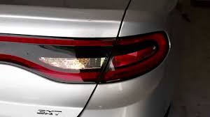 2013 dodge dart tail lights 2013 2016 dodge dart tail lights testing after changing reverse