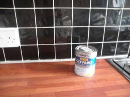 painting kitchen tiles painted subway tile backsplash