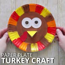 paper plate turkey craft oh my this is i crafty things