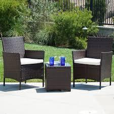 furniture patio outdoor belleze 014 hg 17013 bro belleze wicker furniture outdoor set