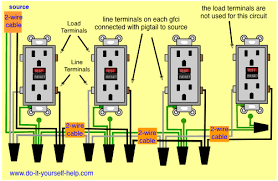 wiring diagrams multiple receptacle outlets do it yourself help com