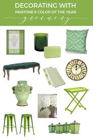 Home Decor Outlet Walden Green Decor Decorating With Pantone U0027s Color Of The Year