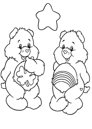 care bears happiness coloring pages place