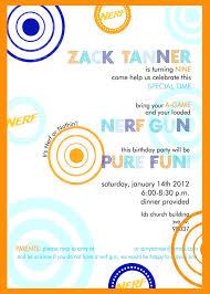 14th birthday party invitations nerf birthday party invitations cimvitation