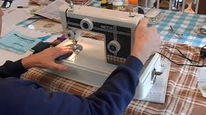 necchi sewing machine demonstration model 522 522fb youtube