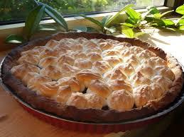 cuisiner les mures tarte aux mûres meringuée au fil du thym
