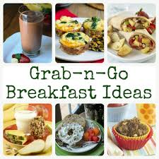 40 grab and go healthy breakfast ideas produce for