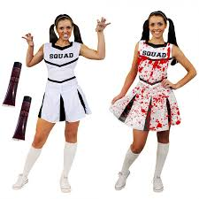 bloody cheerleader costume