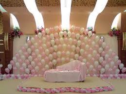 birthday decoration ideas at home with balloons polkadot homee ideas