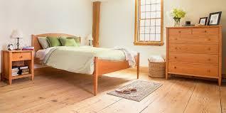 Handcrafted Wood Bedroom Furniture - vt shaker furniture top quality handcrafted real solid wood