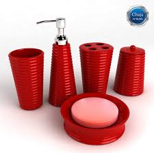 Red Bathroom Accessories Sets by Bathroom Accessory Sets Before Choosing The Bath Accessories For