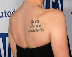 which sports this shoulder blade tattoos zimbio