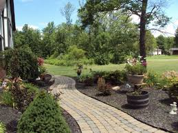 pictures large yard landscaping best image libraries