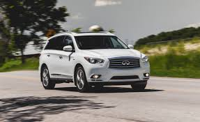 nissan infiniti qx60 2014 infiniti qx60 hybrid awd test u2013 review u2013 car and driver