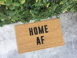 doormat funny home af doormat doormats funny doormat home decor custom