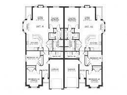 2 story floor plans with garage small duplex house plans with garage homes zone
