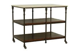 otb cobre chestnut iron kitchen island living spaces