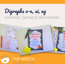 digraph activities games u0026 worksheets a e ai ay by top