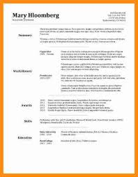 4 basic resume layouts action plan template