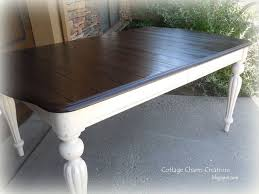 How To Refinish A Table Sand And Sisal by Best 25 Two Tone Table Ideas On Pinterest Refinished Table