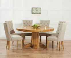 solid oak table with 6 chairs 20 photos oak dining tables with 6 chairs dining room ideas