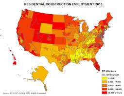 Florida District Map by Nahb Releases New Home Building Employment Estimates By State And