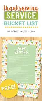 printable service lists